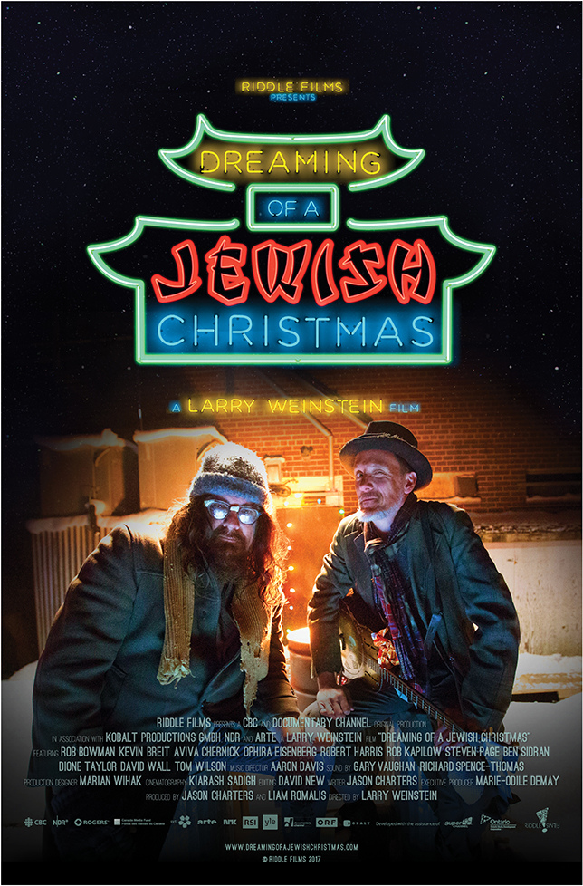 Dreaming of a Jewish Christmas – A musical documentary about the ...